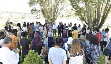 35 ülkeden öğrenci Millet Bahçesi'nde buluştu