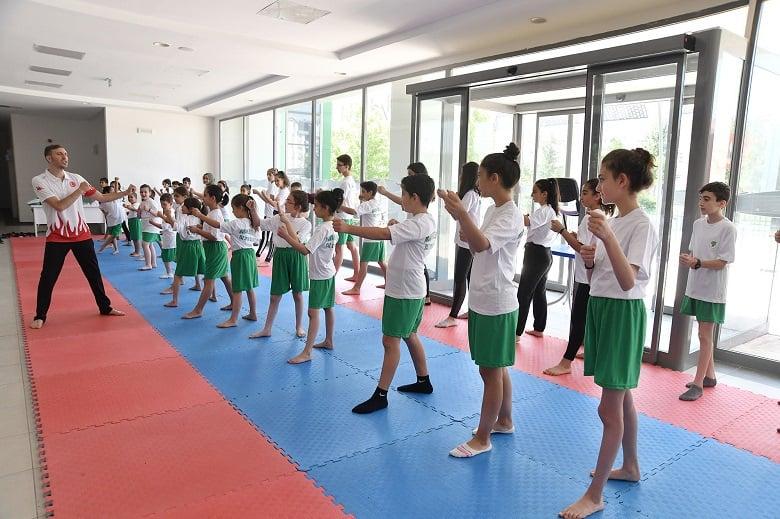 Yaz Spor Okullarına Yoğun Talep