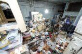 Altındağ'da 20 Kişi Çöp Evi Temizledi… Çöp Evden Görüntüler