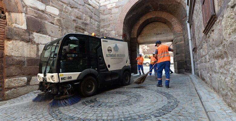 Ankara Kalesi'nde detaylı temizlik