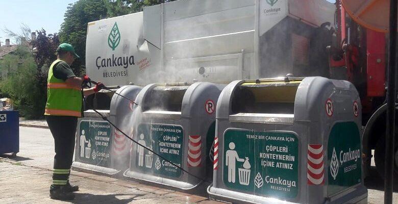 Çankaya'da Yaz Temizliği