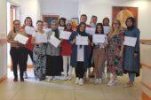 Pursaklar'da Hanımlar Sertifikalarını Aldı