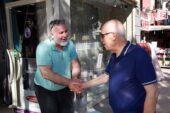 Başkan Yaşar Esnafla Bayramlaştı