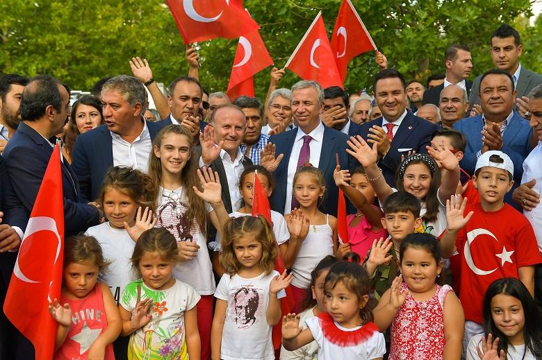 Başkentte 30 Ağustos Coşkusu