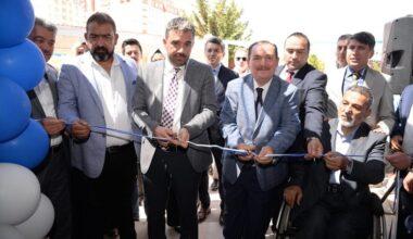 Engelliler Sosyal Tesisinin açılışını Başkan Ertuğrul Çetin yaptı