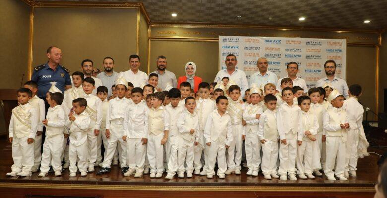 Akyurt'ta 156 Çocuğa Sünnet Şöleni