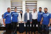 Akyurt Belediyespor'un Şampiyon Futbolcularına Hediye