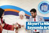 Akyurt'ta Nikah Sayısında Artış