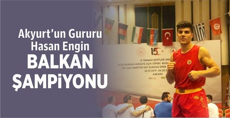 Hasan Engin Balkan Şampiyonu