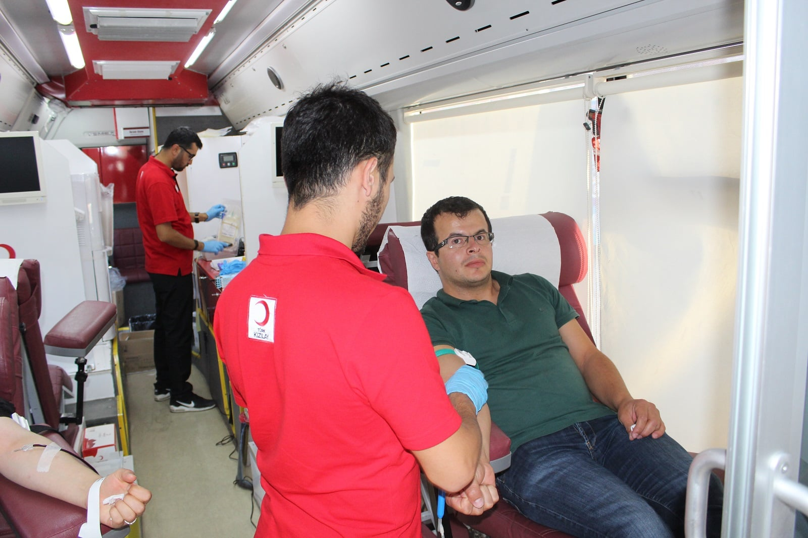 Akyurt'ta Kan Bağışına Yoğun İlgi