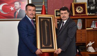 Vali Şahin'den Başkan Balcı'ya Ziyaret