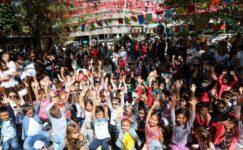 Çankayalı Çocuklar İklim Şenliğinde Buluştu