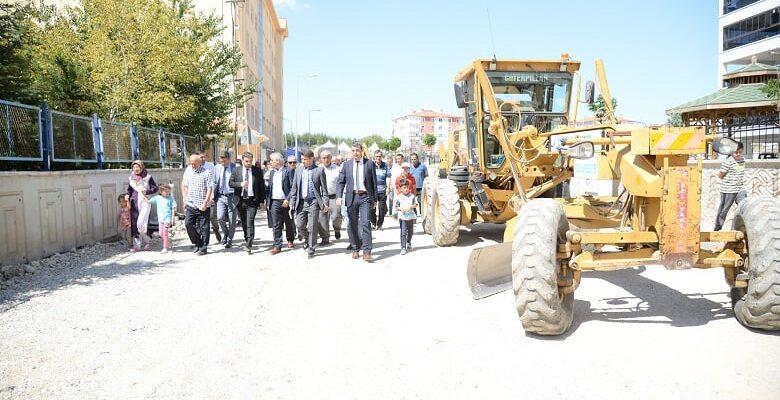 Pursaklar'ın Sokakları Yenileniyor