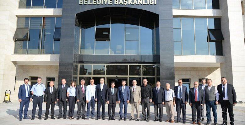 Zabıta Teşkilatından Başkan Ertuğrul Çetin'e Ziyaret