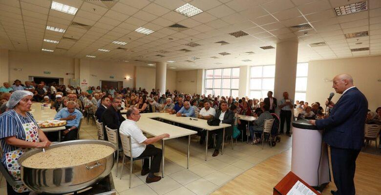 Serçeşme Cemevi'nde aşure buluşması