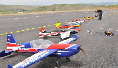 Model Uçaklar Mamak'ta Havalanacak