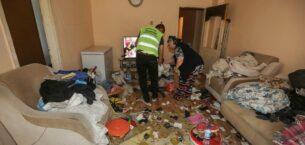 Belediye Ekipleri Çöp Evler İçin Seferber Oldu