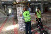 Pursaklar Belediyesi'ne Bağlı Ekipler Camileri Temizliyor