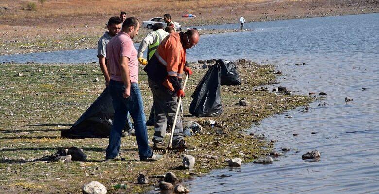 Baraj Çevrelerinde Sıkı Temizlik