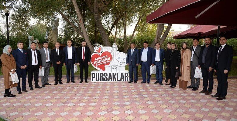 Kırgızistan Oş Şehri Meclis Başkanı'ndan Pursaklar'a Anlamlı Ziyaret