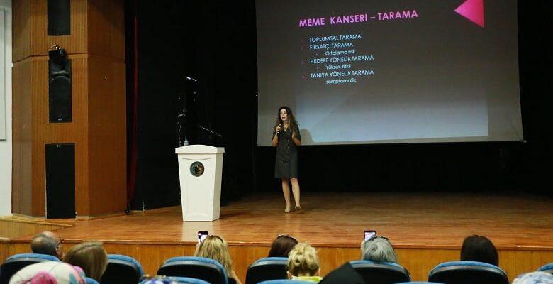"""Yenimahalle'de """"Meme Kanseri"""" Semineri"""