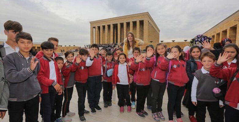 Yenimahalle'den Çamlıdereli Çocuklara Anıtkabir Gezisi