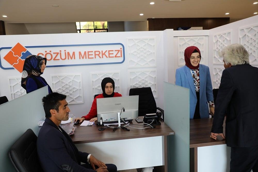 Akyurt'un 'Çözüm Merkezi' Açıldı