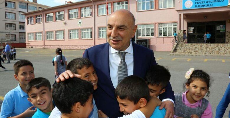 Altınok Mezun Olduğu Okulu Ziyaret Etti