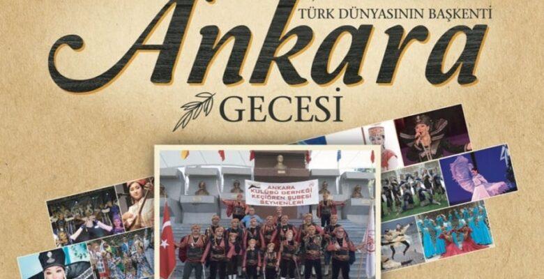 Ankara'nın Başkent Oluşu Keçiören'de Kutlanacak