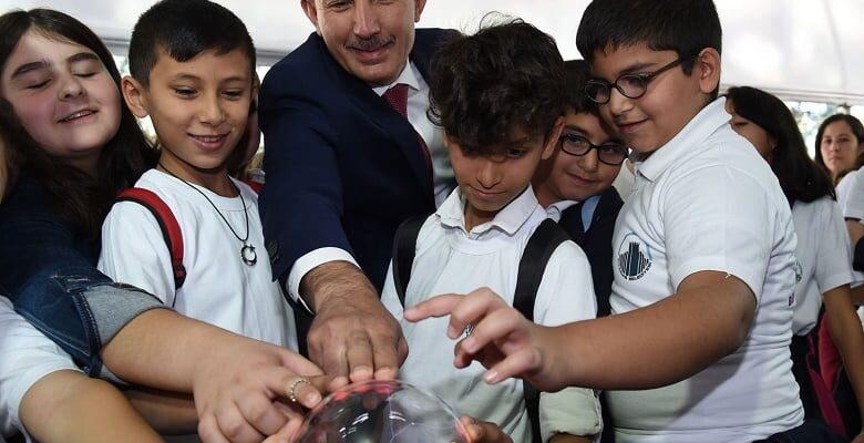 5 Bin Çocuk Bilimle Buluştu