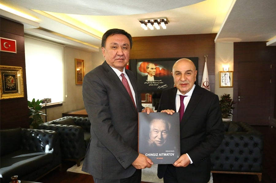 Kırgız Büyükelçiden Altınok'a Ziyaret