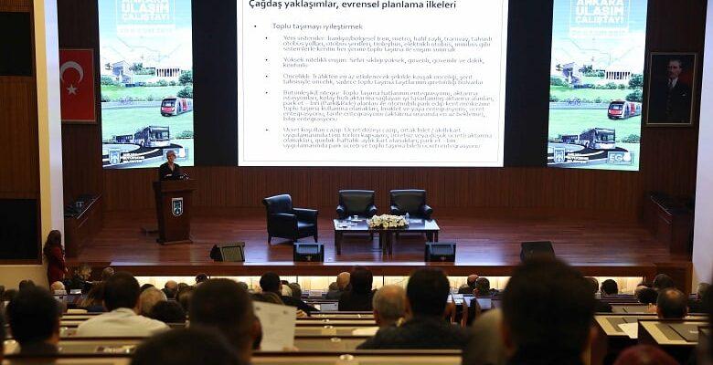 Başkent'te Ulaşım Çalıştayı Toplandı
