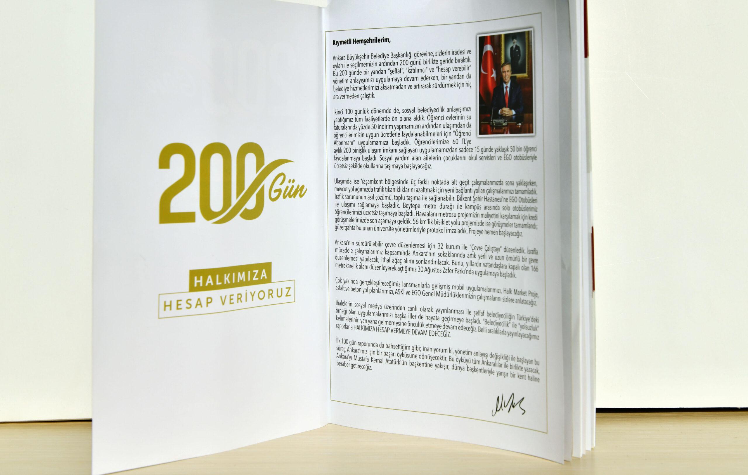 Başkan Yavaş İle 200 Gün