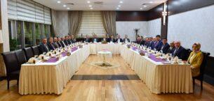 Başkan Yavaş Belediye Başkanları İle Bir Araya Geldi