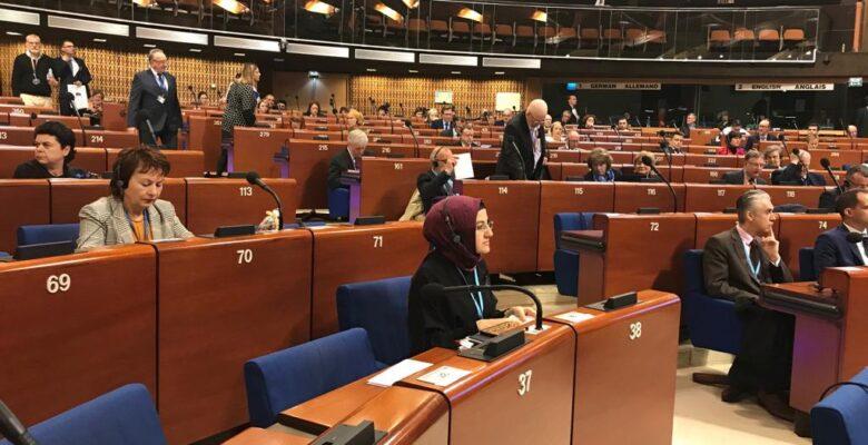 Başkan Ayık Türkiye'yi Temsilen Strazburg'da…