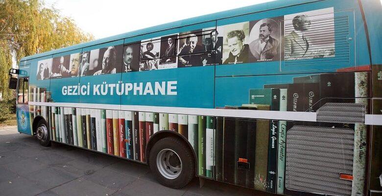 Gezici Kütüphane, Yenimahalle'de