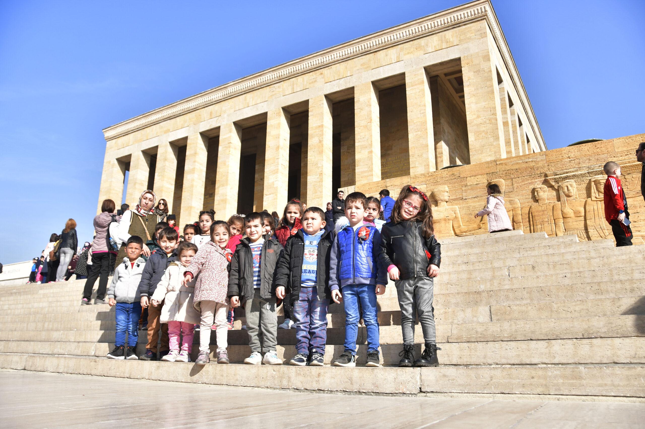 Miniklerden Anıtkabir Ziyareti