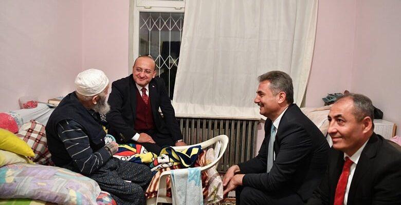 Akdoğan ve Köse'den Mamak'ta ev ziyareti