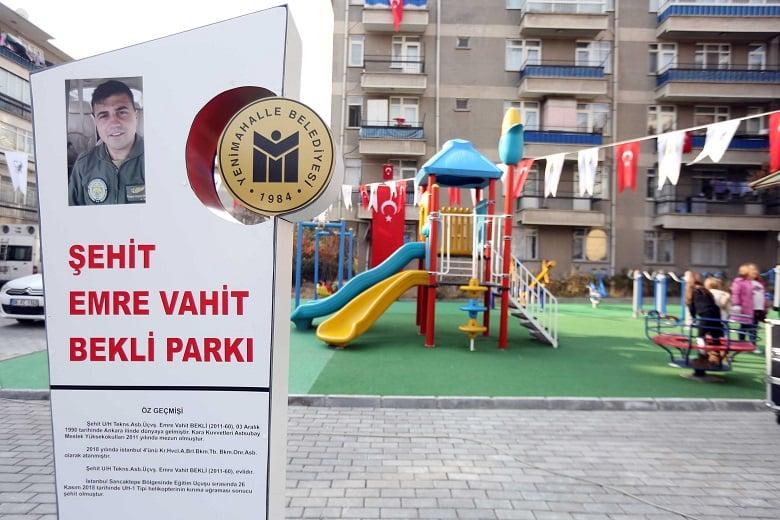 Yenimahalle Şehidinin Adı Parkta Yaşayacak