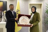 Başkan Ayık'tan MKE Ankaragücü'ne Ziyaret