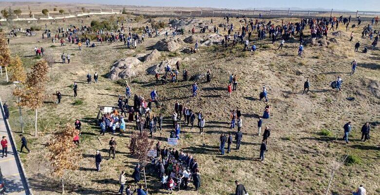 Altındağ'da 1500 Fidan Toprakla Buluştu