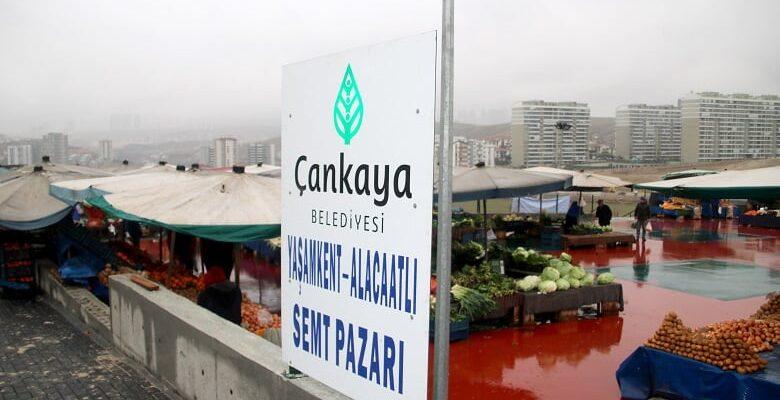 Yaşamkent Pazaryeri Hizmete Açıldı