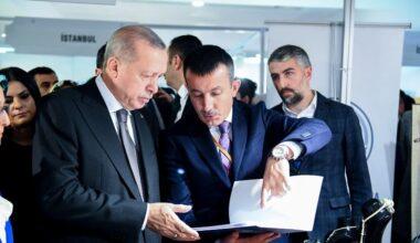 Cumhurbaşkanı Erdoğan Altındağ standında