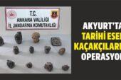 Akyurt'ta Tarihi Eser Kaçakçılarına Operasyon