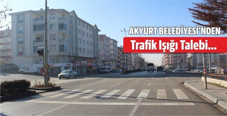 Akyurt'tan Trafik Işığı Talebi