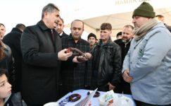 Başkan Köse ilk açılışı yaptı