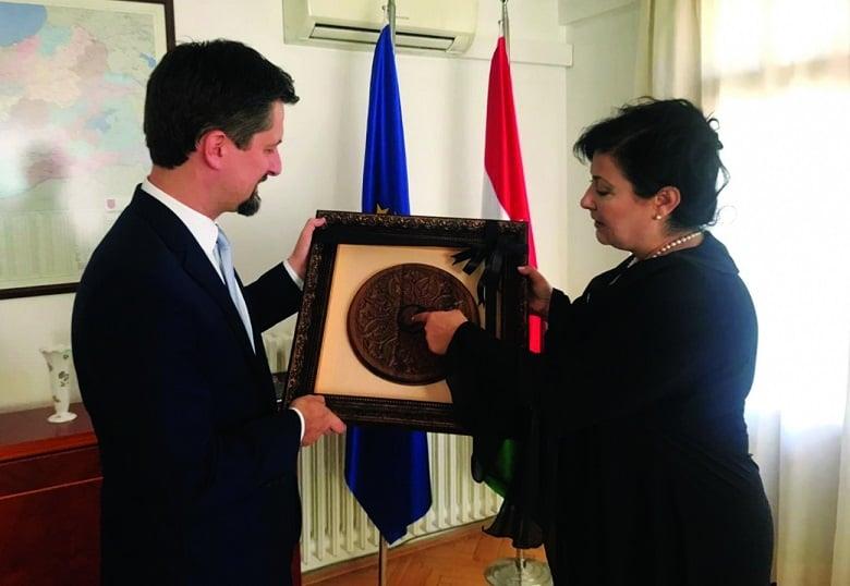 9 Büyükelçilik Ziyaret Edildi