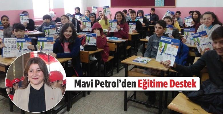 Mavi Petrol'den Eğitime Destek