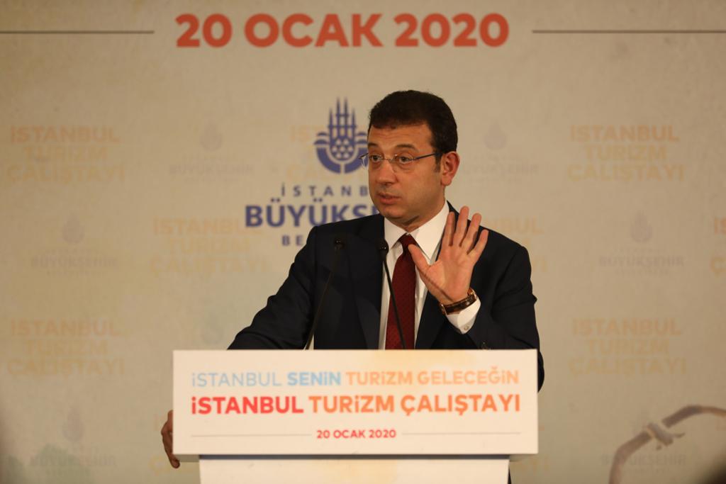 Başkan İmamoğlu turizm çalıştayında konuştu: 50 kişiyi işe alın diyerek sorunu çözemezsiniz