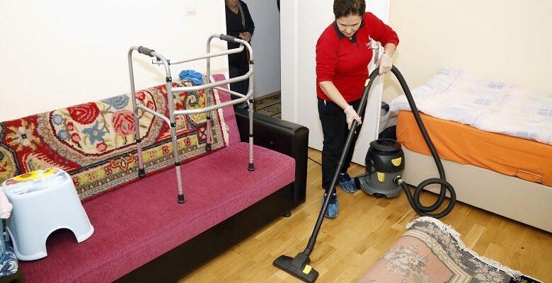 Çankaya'dan 724 Haneye Evde Temizlik Hizmeti